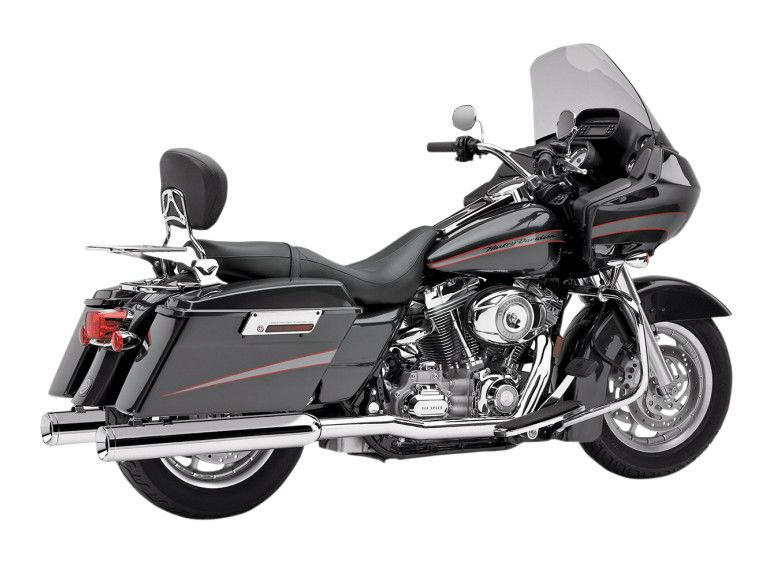 Harley Touring True Dual Head Pipes By Cobra