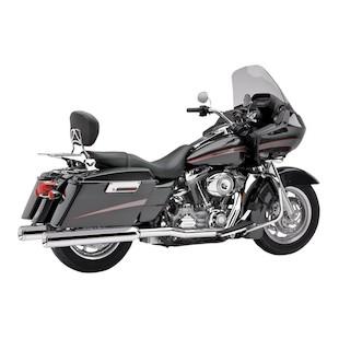 Cobra True Dual Headpipes For Harley Touring 2007-2008
