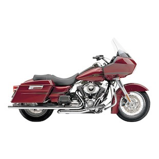 Cobra Speedster Duals Exhaust For Harley Touring 2009