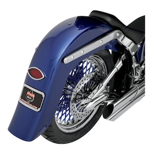 "Klock Werks 7.125"" Wide 4"" Stretched Undrilled Rear Fender"