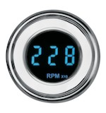 Dakota Digital 4000 Series Standard Mini Gauges For Harley - Blue