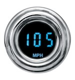 Dakota Digital 4000 Series Retro Mini Gauges For Harley - Blue