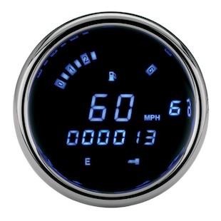 Dakota Digital Direct-Fit 3200 Series Speedometer/Tachometer For Harley Rocker 2008-2010