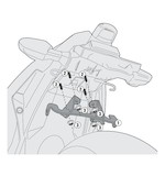 Givi 4108KIT Side Case Kit Kawasaki Ninja 300 2013-2014