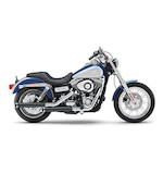 "Cobra 3"" Slip-On Mufflers For Harley Dyna 1995-2015"