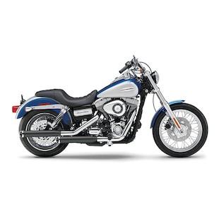 """Cobra 3"""" Slip-On Mufflers For Harley Dyna 2008-2014"""