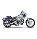 "Cobra 3"" Slip-On Mufflers For Harley Dyna 2008-2014"