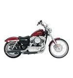 "Cobra 3"" Slip-On Mufflers For Harley Sportster Seventy Two 2012-2013"