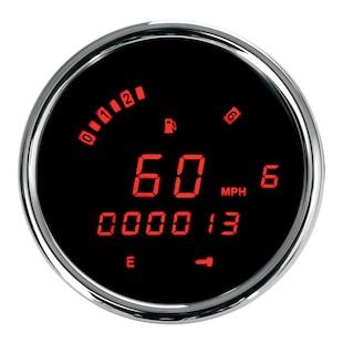Dakota Digital 3200 Series Speedometer For Harley Dyna / Sportster 2004-2013
