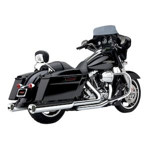 Cobra Tri-Flo Slip-On Mufflers For Harley Touring 1995-2016