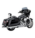 Cobra Tri-Flo Slip-On Mufflers For Harley Touring 1995-2015