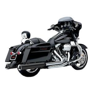 Cobra PowrFlo Slip-On Mufflers For Harley Touring 1995-2016