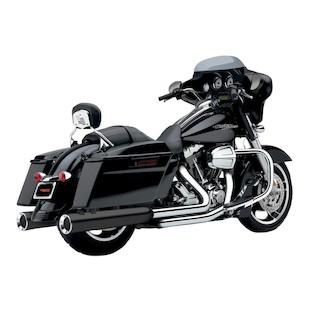 Cobra PowrFlo Slip-On Mufflers For Harley Touring 1995-2016