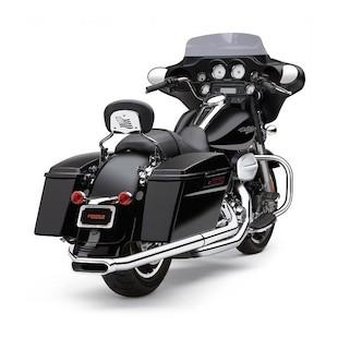 Cobra Center-Pro Slip-On Muffler For Harley Touring 1995-2016
