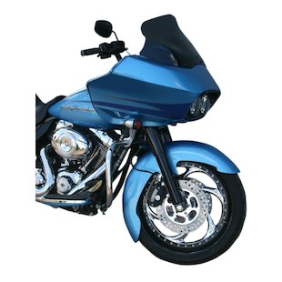 Klock Werks Pierce Tire Hugger Series Front Fender For Harley Touring 1984-2013
