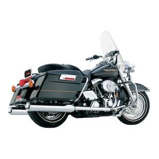 "Cobra 4"" Slip-On Mufflers For Harley Touring 1995-2015"