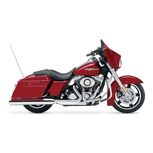 "Cobra 4"" Slip-On Muffler For Harley Street Glide / Road Glide 2010"