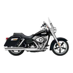 "Cobra 4"" Slip-On Muffler For Harley Dyna Switchback 2012-2016"