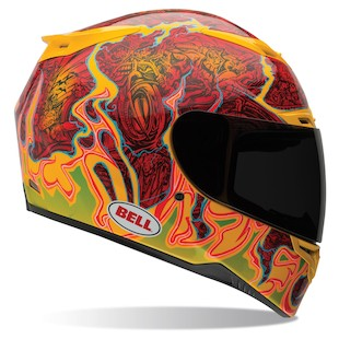 Bell RS-1 Airtrix Melt Down Helmet (Size LG Only)