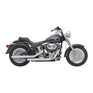 "Cobra Dragsters 2.5"" Exhaust For Harley Softail 2007-2011"