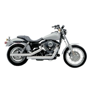"""Cobra Dragsters 2.5"""" Exhaust For Harley Dyna 1991-2005"""