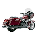 Cobra Tri-Oval Slip-On Mufflers For Harley Touring