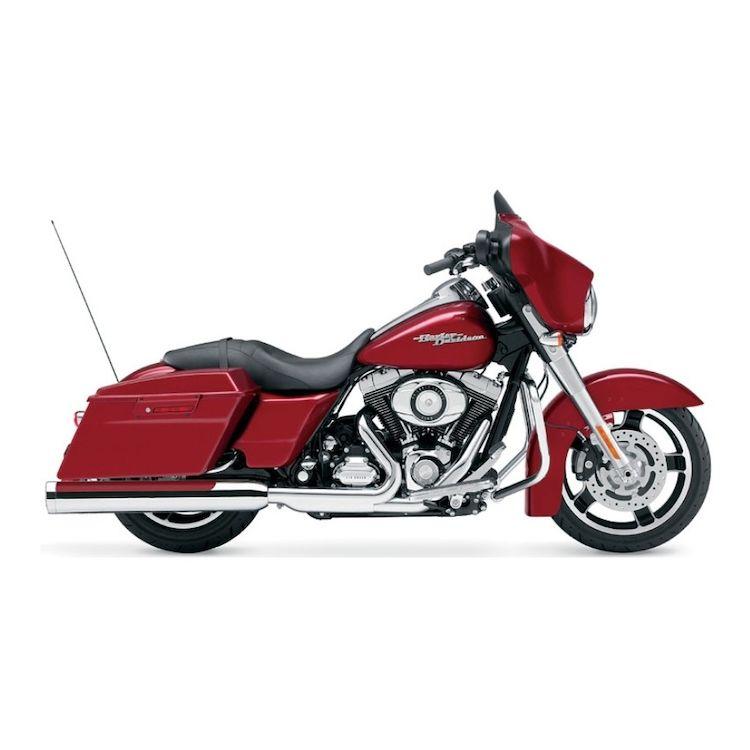 "Cobra 4"" Slip-On Mufflers For Harley"