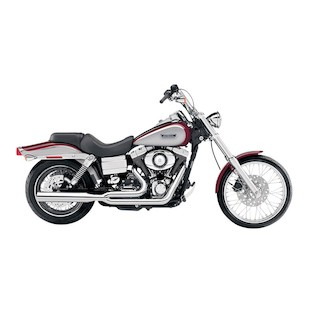 Cobra Power Pro HP 2-Into-1 Exhaust For Harley Dyna 1991-2005