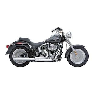 Cobra PowerPro HP 2-Into-1 Exhaust For Harley Softail 1986-2006