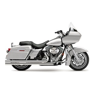 "Cobra Speedster Extra Long 2.5"" Exhaust For Harley Touring 1995-2006"