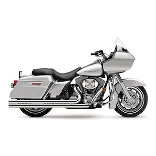 "Cobra Speedster Extra Long 2.5"" Exhaust For Harley Touring"