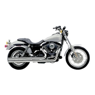 "Cobra Speedster Long 2.5"" Exhaust For Harley Dyna 1991-2005"