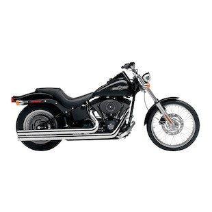 "Cobra Speedster Long 2.5"" Exhaust For Harley Softail 1986-2006"