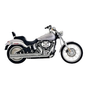 "Cobra Speedster Long 2.5"" Exhaust For Harley Softail 2007-2011"