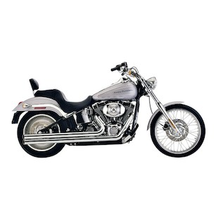 "Cobra Speedster Long 2.5"" Exhaust For Harley Softail 2012-2014"