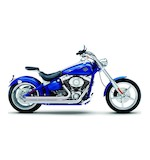 "Cobra Speedster Short 2.5"" Exhaust For Harley Rocker 2008-2011"