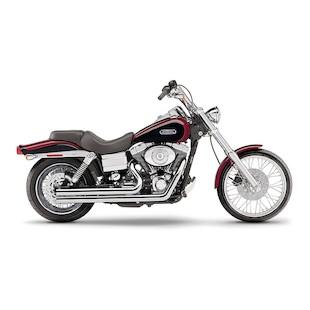 """Cobra Speedster Short 2.5"""" Exhaust For Harley Dyna 2006-2011"""