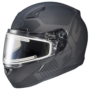 HJC CL-17 Mission Snow Helmet - Electric Shield