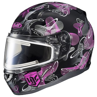 HJC Women's CL-17 Mystic Snow Helmet - Electric Shield