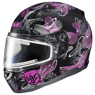 HJC Women's CL-17 Mystic Snow Helmet - Electric Shield
