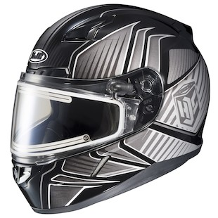 HJC CL-17 Redline Snow Helmet - Electric Shield