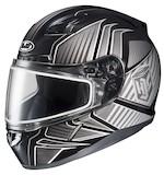 HJC CL-17 Redline Snow Helmet - Dual Lens
