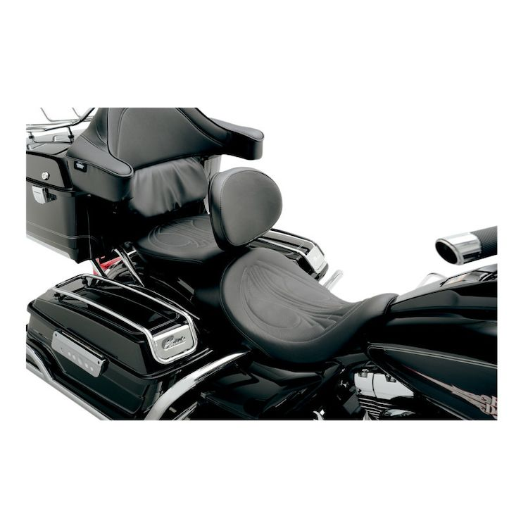 Danny Gray AirHawk BigSeat With Driver's Backrest Capability For Harley Touring 2008-2018