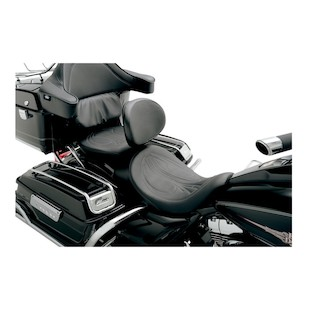 Danny Gray AirHawk BigSeat With Driver's Backrest Capability For Harley Touring 2008-2014