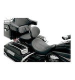 Danny Gray AirHawk BigSeat With Driver's Backrest Capability For Harley Touring 2008-2017