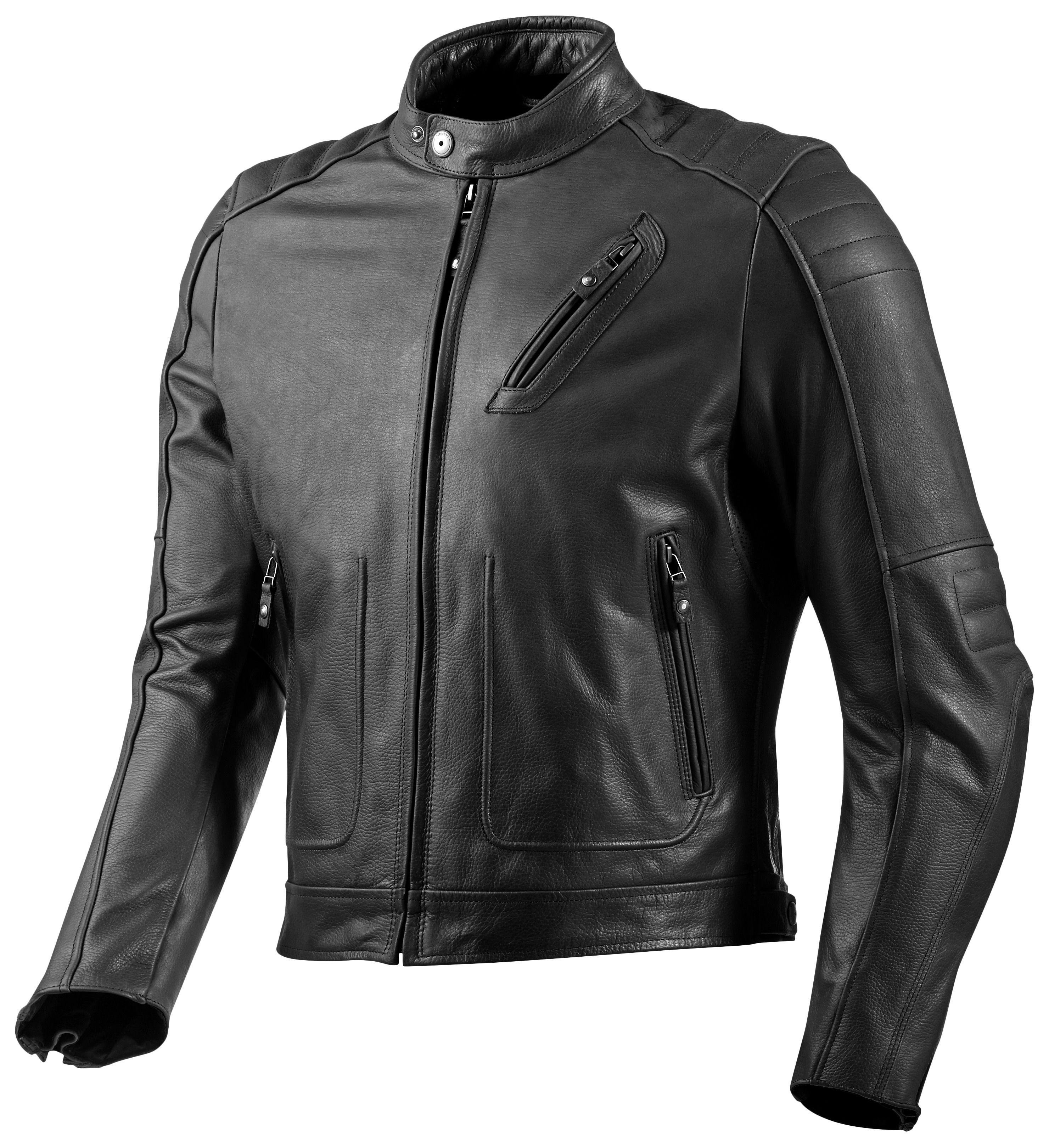 Leather jacket india - Red Hook Leather Jacket Revzilla