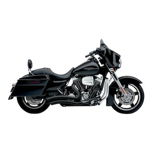 "Cobra Speedster Short Swept 2.5"" Exhaust For Harley Touring 2010-2015"
