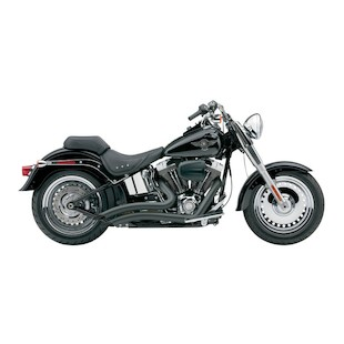 "Cobra Speedster Short Swept 2.5"" Exhaust For Harley Softail 2007-2011"