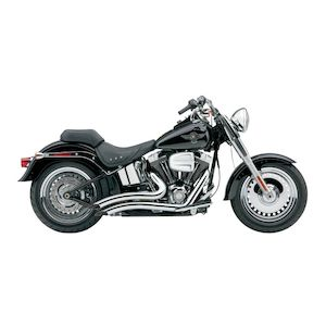 Cobra Speedster Short Swept Exhaust For Harley Softail 1986-2006