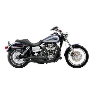 """Cobra Speedster Short Swept 2.5"""" Exhaust For Harley Dyna 2012-2015"""